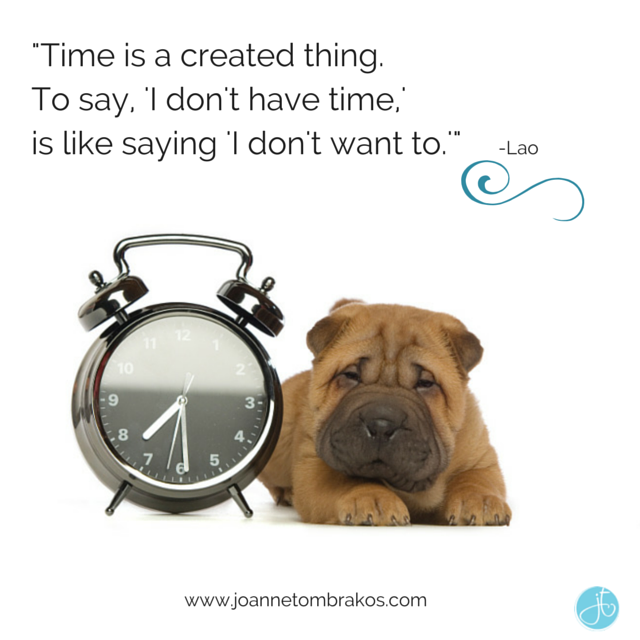 Time is a created thing