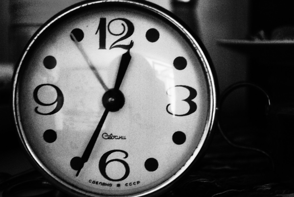 black-and-white-hand-vintage-clock