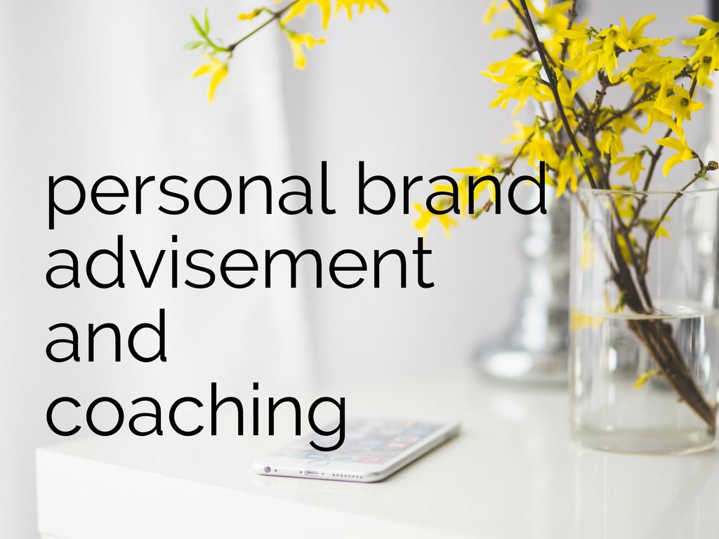 personal brand advisement