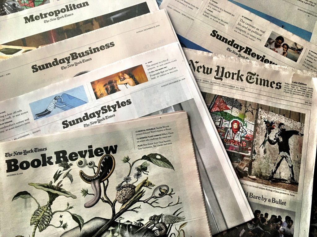 3 Good Reasons To Get Your Hands Full of Newsprint